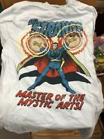 Marvel Comics Dr. Strange Master of the Mystic Arts Tee Shirt Marvel License NWT