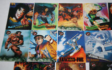 LOTE DE 29 CARTAS, SPIDERMAN PREMIUM 96, SIN REPETIR, TRADING CARDS