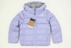 NWT NORTH FACE YOUTH GIRLS MOONDOGGY HOODED DOWN JACKET SWEET LAVENDER