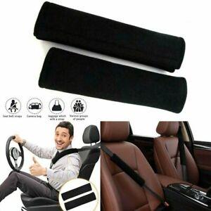 4pcs Soft Safety Shoulder Covers Car Seat Belt Pads Cushion Comfortable