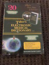 Taber 'elektronisches Wörterbuch 3.0 CD-ROM nur Illustrationen Aussprache 2005