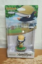 NEW NINTENDO AMIIBO ANIMAL CROSSING JAPAN EDITION SHANK FOR 3DS WII U US SELLER