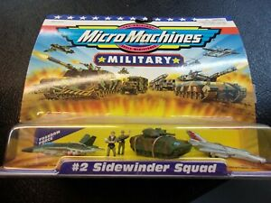 Micro Machines Military Freedom Force #2 Sidewinder Squard