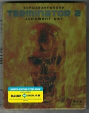 TERMINATOR 2 Judgment Day (Limited Edition STEELBOOK)(Blu-ray+Digital) BRAND NEW