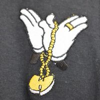 """Mickey Chain """"W"""" Hands Black Hip Hop Tee T-shirt by Actual Fact"""