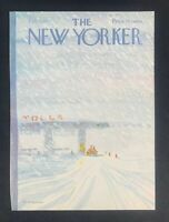COVER ONLY ~ The New Yorker Magazine, February 7, 1977 ~ James Stevenson