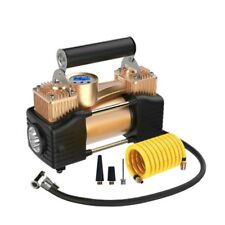 12V 200PSI Double Cylinder Potable Air Compressor Pump Car Tire Tyre Inflator