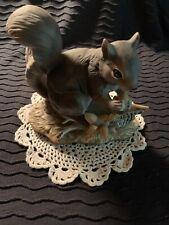~Homco~ Home Interiors Masterpiece ~Squirrel~ 1982