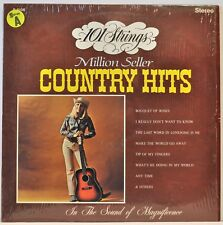 "101 Strings ""Million Seller Country Hits"" LP 1972 Alshire S-5106 Excellent"