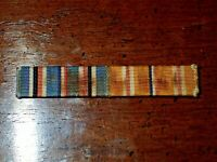 WW2 USN USMC 1/2 Inch Two Ribbon Bar American Campaign & Asiatic Pacific Theater