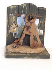 Deko-Buchstütze Western Indiens Tente Diorama Tipi Tente Indienne 19 16 14,5cm