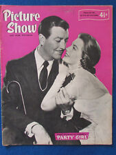 Picture Show Magazine - 21/2/1959 - Robert Taylor & Cyd Charisse Cover