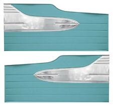 63 Falcon Futura 4 Door Sedan & 4 Door Station Wagon DR Panels, Pair, Turquoise