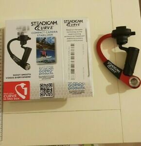 Steadicam Curve Stabiliser for GoPro Hero 3/3+/4 - Red