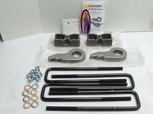 """Lift Kit Daystar 2"""" USA Made Torsion Keys & Lift Blocks 01-10 Silverado Sierra"""