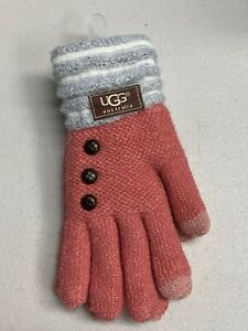 NEW Amazing UGG Gloves, One Size fits most, Color Block Wool blend Knit
