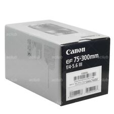 Brand New! Canon EF 75-300mm f/4.0-5.6 III Lens