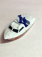 Vintage 1976 Matchbox SuperFast Police Launch Boat Die Cast Toy