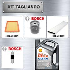 Kit tagliando Mini One d fino al 2006 1.4 diesel 55kw 65kw 5lt Shell ECT 5w30