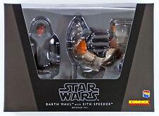 Medicom KUBRICK-309 STAR WARS Darth Maul with Sith Speeder Reissue Ver.