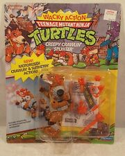 "Teenage Mutant Ninja Turtles 1990 ""Wacky Action""- Creepy Crawlin' Splinter (MOC)"