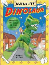 Dinosaur (Build It), New, Hitch, David Book