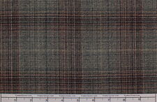 Scottish Poly Rayon Plaid Stretch Suiting Fabric