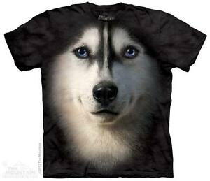 New SIBERIAN HUSKY FACE T Shirt
