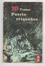 Panfleto 10 Poetas Puertorriquenos Libros Del Pueblo Num 2 Puerto Rico ICP 1972