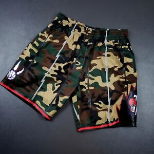 100% Authentic Mitchell Ness 98 99 Raptors Shorts Pockets Size L 44 vince carter