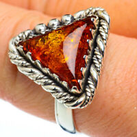Baltic Amber 925 Sterling Silver Ring Size 9 Ana Co Jewelry R45580F