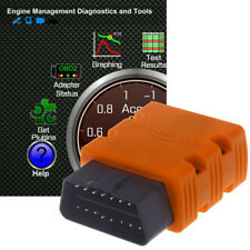 Bluetooth OBD2 OBDII Car Diagnostic Scanner Code Reader For Android Phone Window