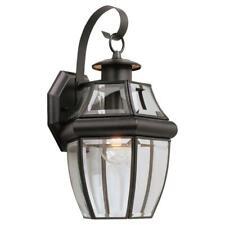 Sea Gull Lighting 8067-12 Lancaster Outdoor Wall Light, Black