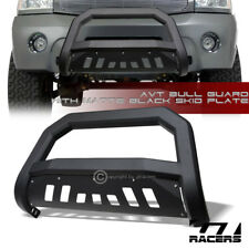 Matte Blk AVT Edge Bull Bar Brush Push Bumper Guard For 2004-2015 Titan/Armada