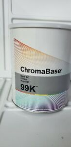 DuPont Axalta 99k Black Basecoat Gallon GM 99k automotive paint chromabase