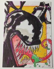 2014 Marvel 75th Anniversary 1/1 SketchaFEX Venom Sketch Card by Mike Thomas
