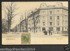 DENMARK 01-København Pile Allé ( Undivided Back (c. 1901-1907)