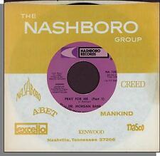 "Dr. Morgan Babb - Pray For Me, Part 1 & 2 - 1977 Gospel 7"" 45 RPM Single!"