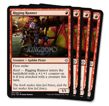 4x Rigging Runner - Ixalan - Playset - NM - English - MTG