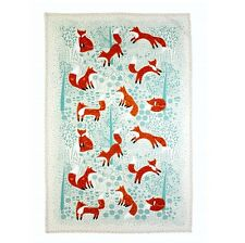 Foraging Fox Cotton Tea Towel by Ulster Weavers