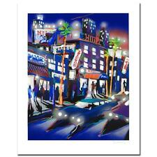 "James Talmadge ""Hollywood Hotel"" LE Serigraph Signed COA Artist Proof  NEW"