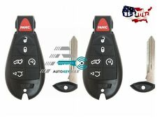2 New Uncut Replacement Key Fob Keyless Entry Remote Transmitter for Fobik - 6bt
