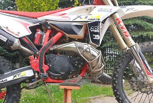 Beta RR Racing Xtrainer exhaust pipe guard Diffusorschutz Cage Muzzle skidplate