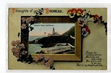 (Sa647-100) Douglas Head Lighthouse ,c1914 ,used ,VG