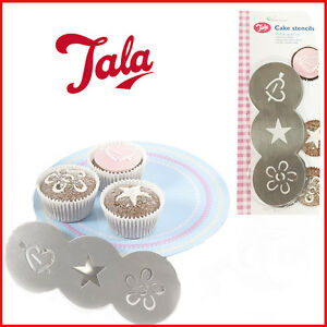Cake Stencil Set Embossing Tool Decorating Template Spraying Home Mold Topper