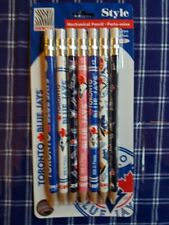 7PC Zebra 0.7MM Mechanical Pencil MLB Baseball Toronto Blue Jays