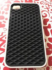 Iphone 4/4s Vans Rubber Waffle Phone Case Black And White, Brand New