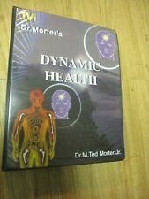 Mint! Dr. Ted Morter's Dynamic Health Set of Audio & Video Tapes with Workbook