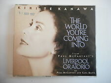 KIRI TE KANAWA : THE WORLD YOU'RE COMING INTO / Mc Cartney [ CD-MAXI ]