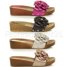 Unbranded Wedge Slides Sandals & Beach Shoes for Women